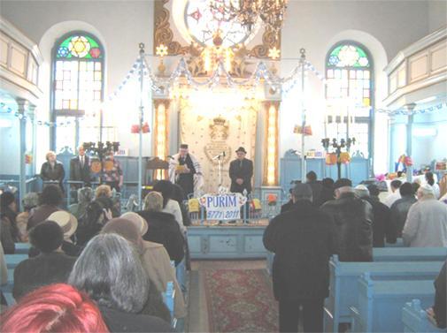COMUNITATEA BRAILA - Spectacol de Purim 2011