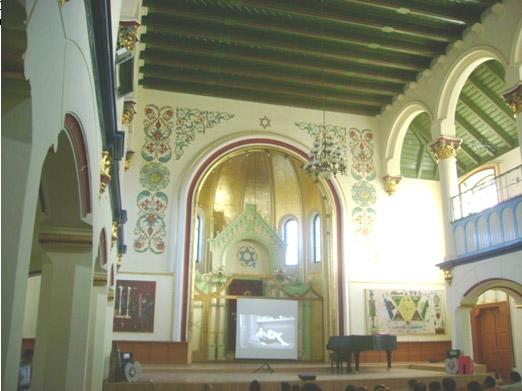Sinagoga din Bistrița – interior