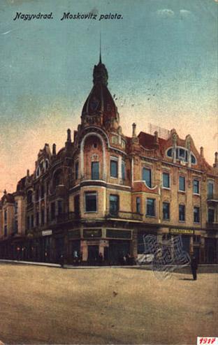 Oradea, Palatul Moskovits
