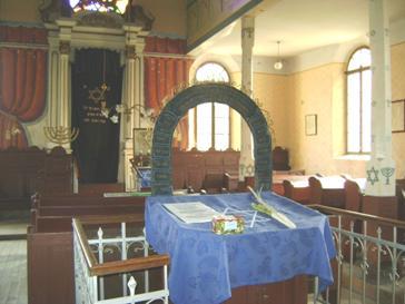 Sinagoga din Baia Mare, interior