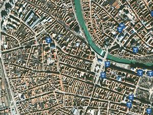 Captura harta satelit