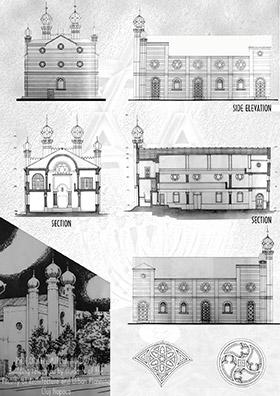 Templul Deportatilor, Strada Horea