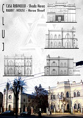 Casa Rabinului, Strada Horea